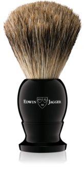 Edwin Jagger Silver Tip Ebony štětka na holení