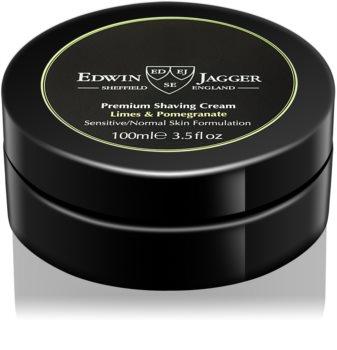 Edwin Jagger Limes & Pomegranate Scheercrème  voor Gemengde Huid