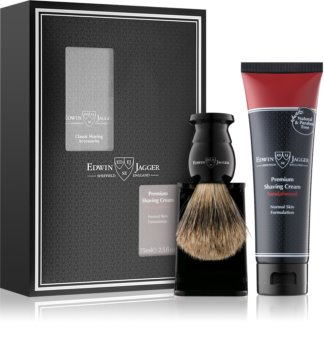 Edwin Jagger Sandalwood Shaving Kit I. (For Normal Skin)