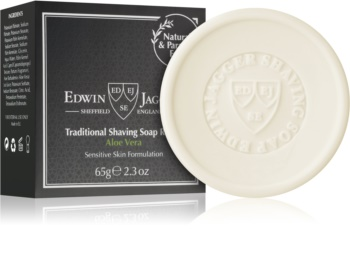 Edwin Jagger EDWIN JAGGER Aloe Vera mydlo na holenie mydlo na holenie náhradná náplň