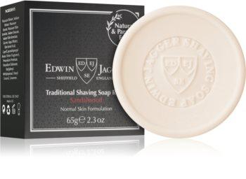 Edwin Jagger Sandalwood mydlo na holenie mydlo na holenie náhradná náplň