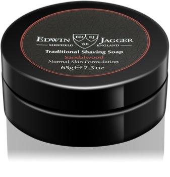 Edwin Jagger Sandalwood mydlo na holenie mydlo na holenie pre normálnu pleť