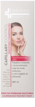 Efektima PharmaCare Capillary-Control lehce zabarvený krém k redukci začervenání a popraskaných žilek