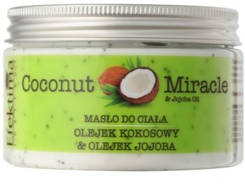 Efektima Institut Coconut Miracle manteiga corporal  com efeito hidratante