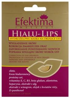 Efektima Institut Hialu-Lips masque hydrogel contour des lèvres effet rajeunissant