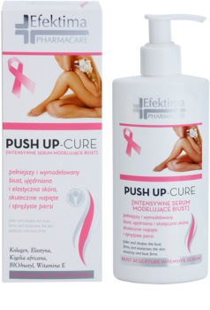 Efektima PharmaCare Push Up-Cure ser ce ofera fermitate bustului pentru fermitatea pielii
