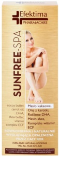 Efektima PharmaCare SunFree-SPA Self-Tanning Balm For Body