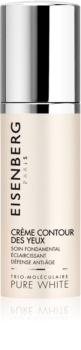 Eisenberg Pure White posvetlitvena krema proti gubam za predel okoli oči