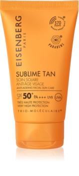 Eisenberg Sublime Tan krema za sunčanje za lice s učinkom protiv bora SPF 50+
