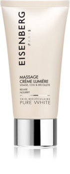 Eisenberg Pure White Massage Facial Cream For Radiance And Hydration