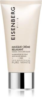 Eisenberg Pure White Hydraterende en Verhellende Masker  tegen Pigmentvlekken