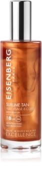 Eisenberg Sublime Tan olje za sončenje za obraz in telo SPF 6