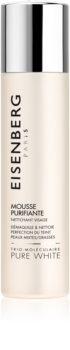 Eisenberg Pure White rozjaśniająca pianka oczyszczająca przeciw przebarwieniom skóry