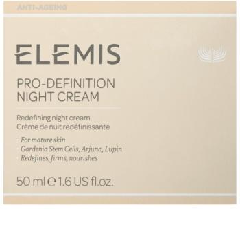 Elemis Anti-Ageing Pro-Definition crema reafirmante de noche con efecto lifting para pieles maduras