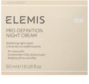 Elemis Anti-Ageing Pro-Definition noční liftingový a zpevňující krém pro zralou pleť
