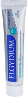 Elgydium Brilliance & Care pasta de dientes blanqueadora con efecto antimanchas en el esmalte