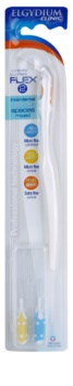 Elgydium Clinic držiak + náhradné medzizubné kefky 2 ks