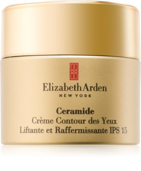 Elizabeth Arden Ceramide Plump Perfect Ultra Lift and Firm Eye Cream crema para contorno de ojos con efecto lifting SPF 15