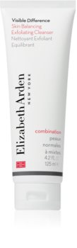 Elizabeth Arden Visible Difference Skin Balancing Exfoliating Cleanser penový peeling pre normálnu až zmiešanú pleť