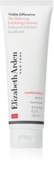 Elizabeth Arden Visible Difference Skin Balancing Exfoliating Cleanser pěnový peeling pro normální až smíšenou pleť