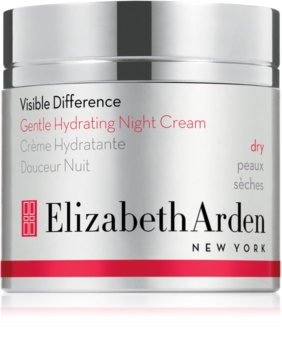 Elizabeth Arden Visible Difference Gentle Hydrating Night Cream Moisturizing Night Cream For Dry Skin