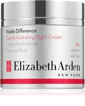 Elizabeth Arden Visible Difference Gentle Hydrating Night Cream нічний зволожуючий крем для сухої шкіри
