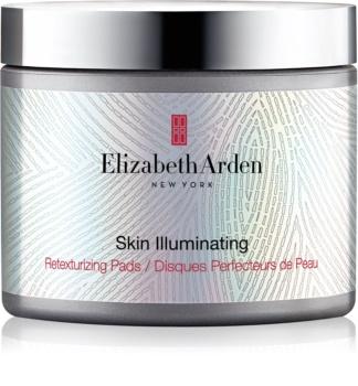 Elizabeth Arden Skin Illuminating Retexturizing Pads exfoliačné vankúšiky pre obnovu povrchu pleti