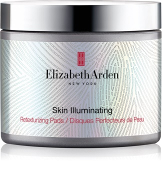 Elizabeth Arden Skin Illuminating Retexturizing Pads Exfoliating Pads For Skin Resurfacing