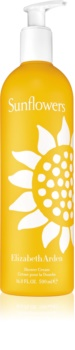 Elizabeth Arden Sunflowers Shower Cream crema de ducha para mujer 500 ml