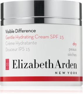 Elizabeth Arden Visible Difference Gentle Hydrating Cream crema de día hidratante  SPF 15