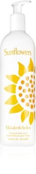 Elizabeth Arden Sunflowers Perfumed Body Lotion lotion corps pour femme 500 ml