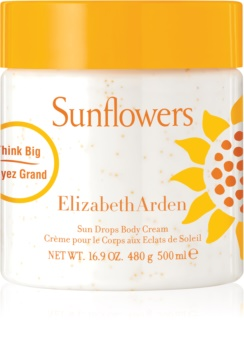 Elizabeth Arden Sunflowers Sun Drops Body Cream Bodycrème voor Vrouwen  500 ml