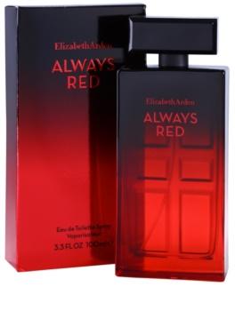Elizabeth Arden Always Red Eau de Toilette voor Vrouwen  100 ml