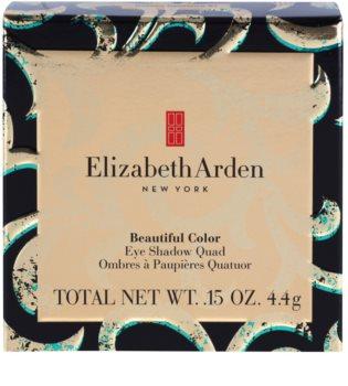 Elizabeth Arden Beautiful Color Eye Shadow Quad paleta farduri de ochi