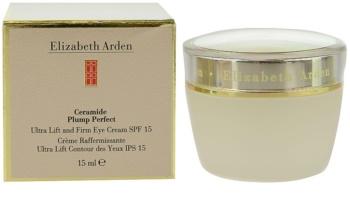 Elizabeth Arden Ceramide Plump Perfect Ultra Lift and Firm Eye Cream crema para contorno de ojos con efecto lifting SPF15