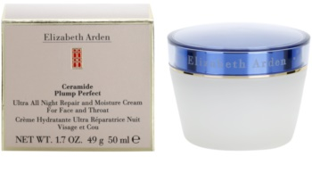Elizabeth Arden Ceramide Plump Perfect Ultra All Night Repair and Moisture Cream obnovující noční krém