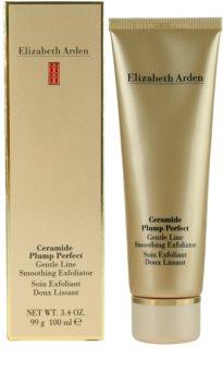 Elizabeth Arden Ceramide Plump Perfect Gentle Line Smoothing Exfoliator peeling cremoso para rosto