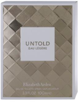 Elizabeth Arden Untold Eau Legere Eau de Toilette für Damen 100 ml