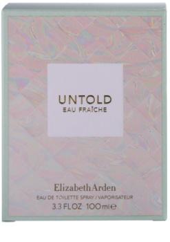 Elizabeth Arden Untold Eau Fraiche Eau de Toilette für Damen 100 ml