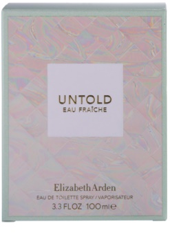 Elizabeth Arden Untold Eau Fraiche Eau de Toilette voor Vrouwen  100 ml