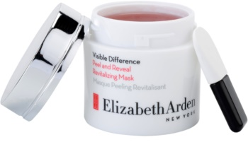 Elizabeth Arden Visible Difference Peel & Reveal Revitalizing Mask masque exfoliant peel-off effet revitalisant