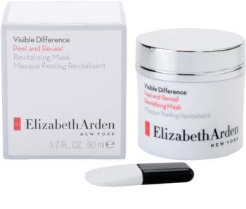 Elizabeth Arden Visible Difference Peel & Reveal Revitalizing Mask slupovací peelingová maska s revitalizačním účinkem