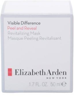 Elizabeth Arden Visible Difference Peel & Reveal Revitalizing Mask luščilna maska z revitalizacijskim učinkom