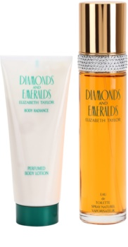 Elizabeth Taylor Diamonds and Emeralds ajándékszett I.