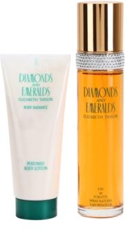 Elizabeth Taylor Diamonds and Emeralds zestaw upominkowy I.