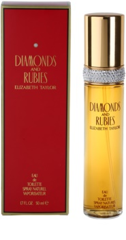Elizabeth Taylor Diamonds and Rubies eau de toilette nőknek 50 ml
