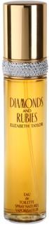 Elizabeth Taylor Diamonds and Rubies Eau de Toilette für Damen 50 ml