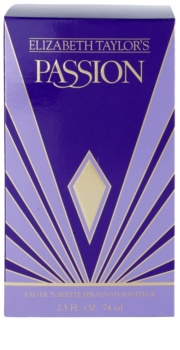 Elizabeth Taylor Passion Eau de Toilette for Women 74 ml
