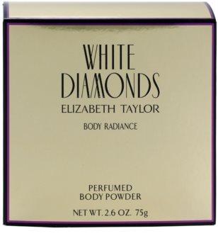 Elizabeth Taylor White Diamonds pudra de  corp pentru femei 75 g