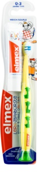 Elmex Caries Protection brosse à dents pour enfants soft + mini dentifrice